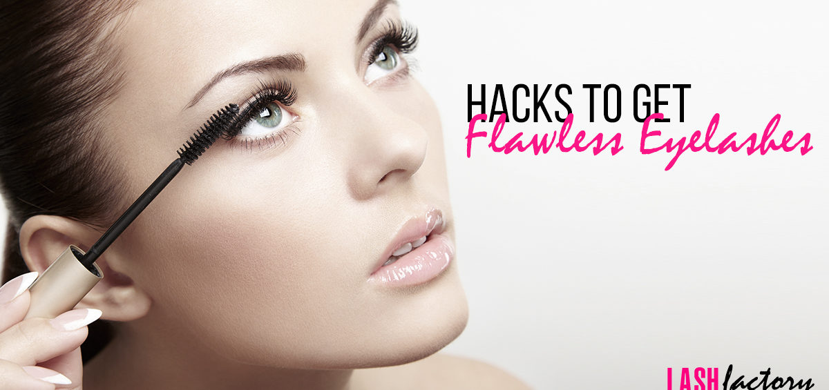 HOW TO GET FLAWLESS EYELASHES