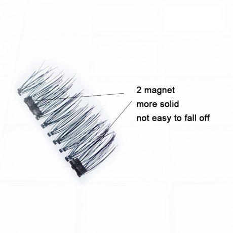 Magnetic Eyelashes with 2 Magnets
