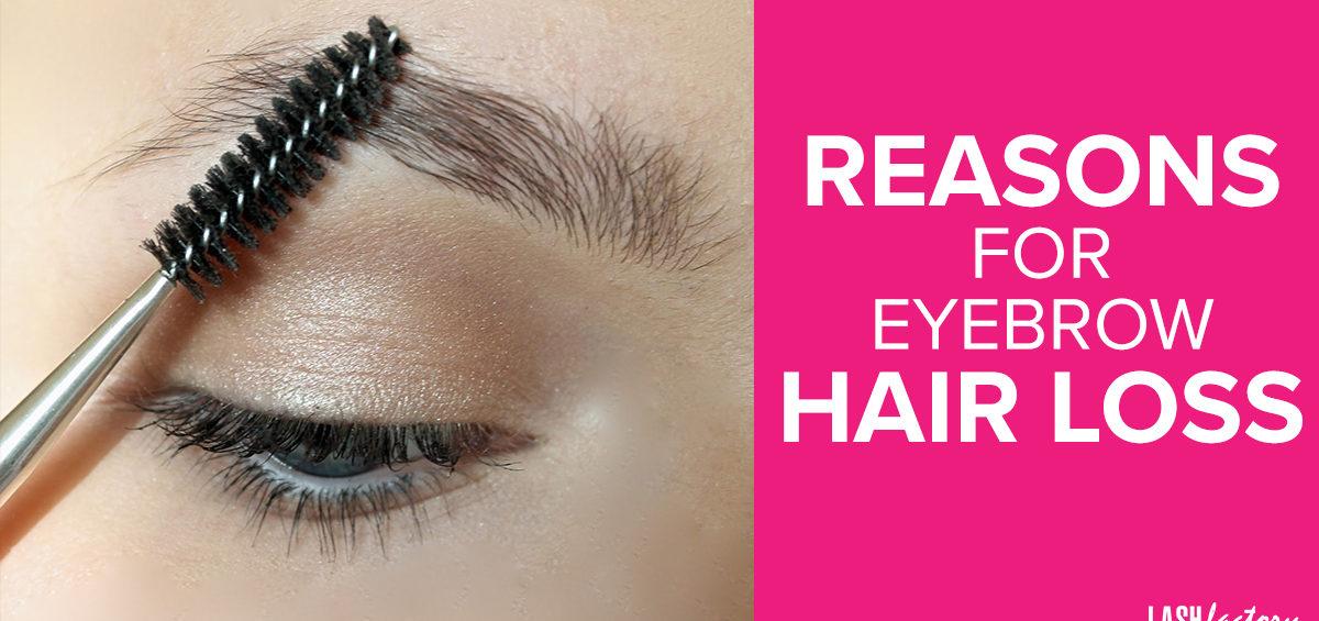 reasons for eyebrow hair loss