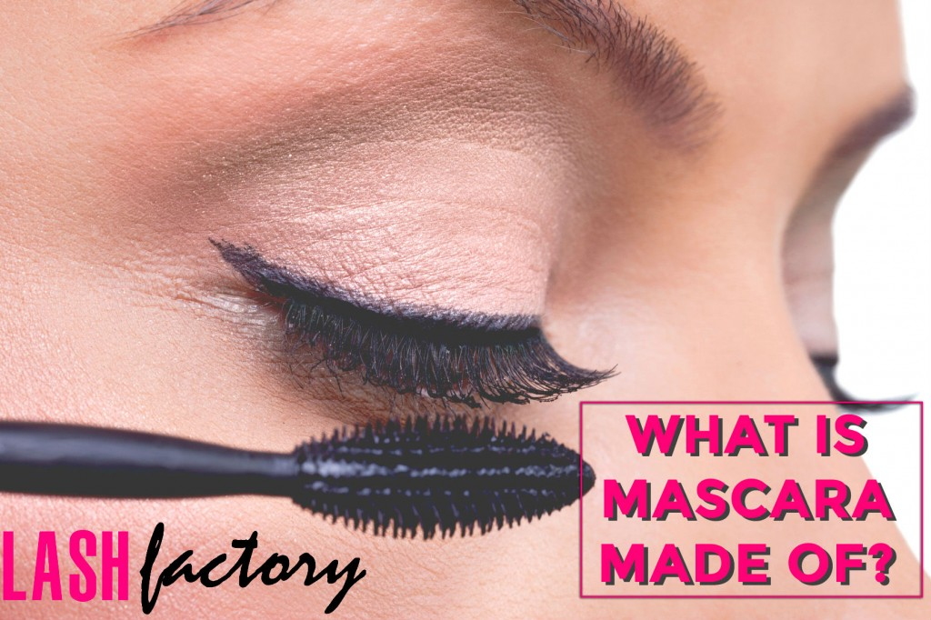 what is mascara made of