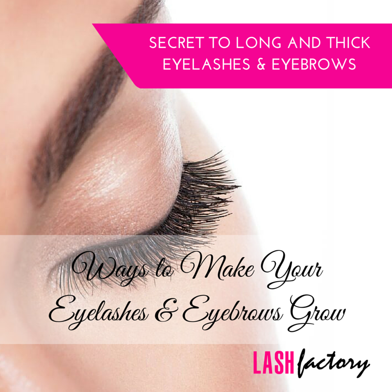Ways To Make Your Eyelashes And Eyebrows Grow
