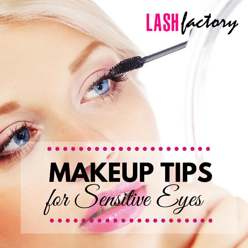 Makeup Tips For Sensitive Eyes Lash Factory Cosmetics