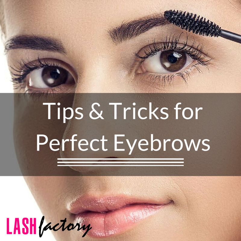 Tips And Tricks For Perfect Eyebrows Lash Factory