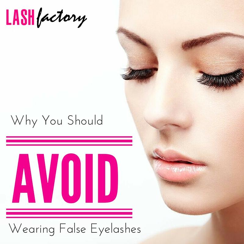 92365a3f6ef Why You Should Avoid Wearing False Eyelashes