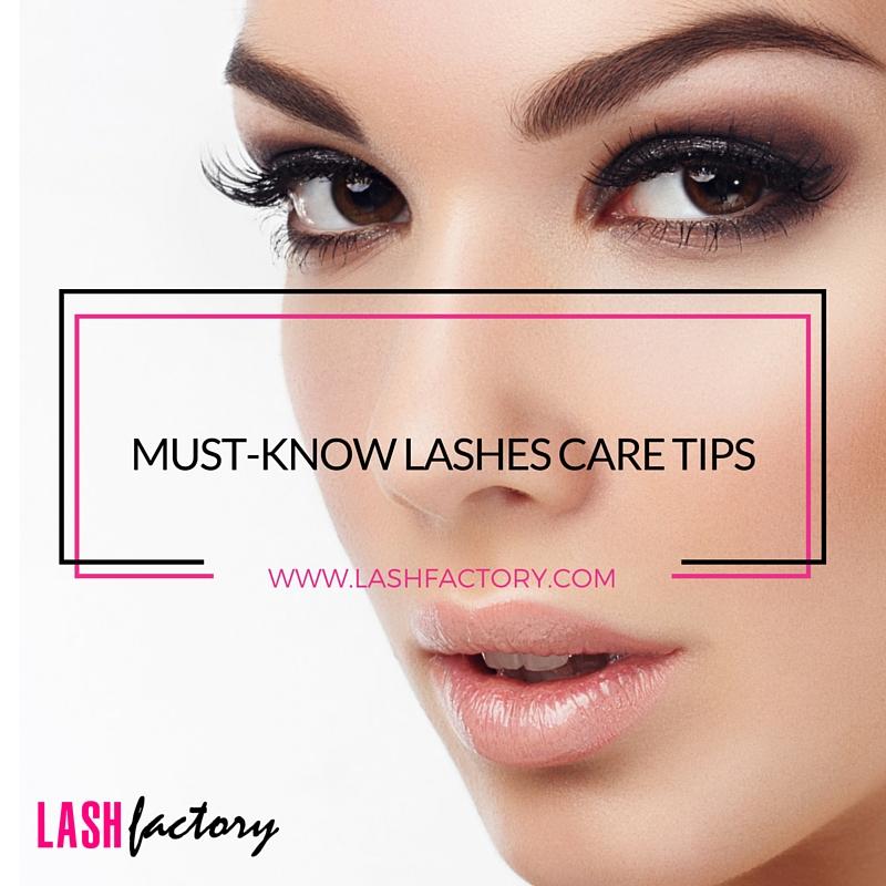 2de33da9dbb Must Know Lashes Care Tips • Lash Factory Cosmetics
