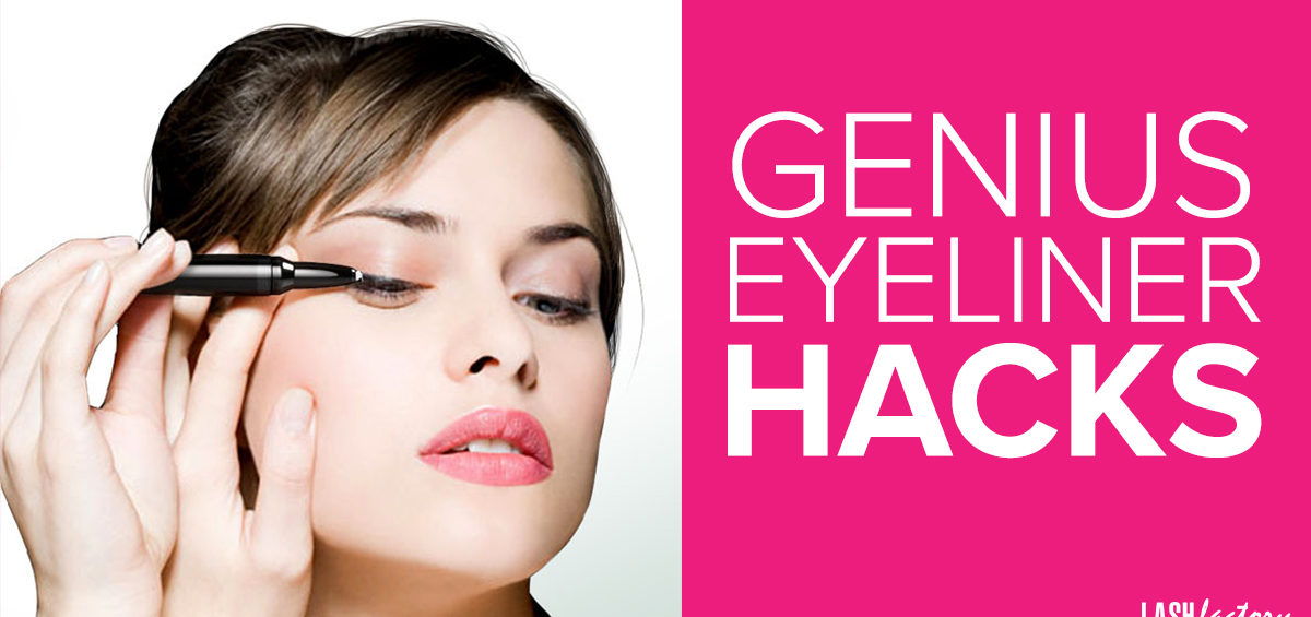 Genius eyeliner hacks