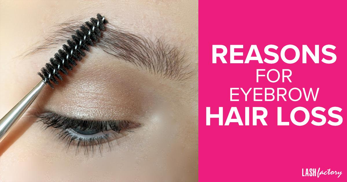 Reasons For Eyebrow Hair Loss Lash Factory Cosmetics
