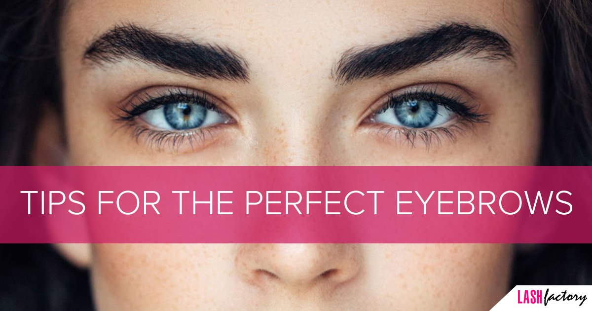Tips For The Perfect Eyebrows Lash Factory Cosmetics