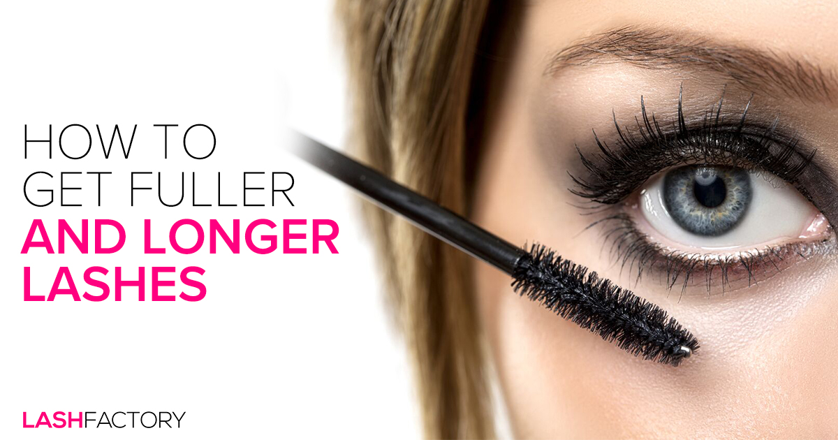How To Get Fuller And Longer Lashes Lash Factory Cosmetics