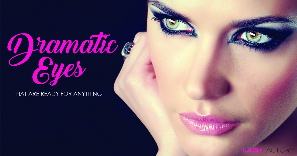 Dramatic Eye Makeup Tips Lash Factory Cosmetics